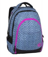 Studentský batoh DIGITAL 8 A blue/pink/black, Bagmaster