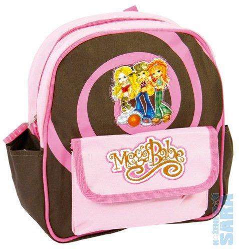 8334e08bd7f dětský batoh do školky 021414 růžovo hnědý-mega babe