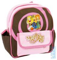 dětský batoh do školky 021414 růžovo hnědý-mega babe 2d44fb667d