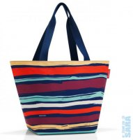 Kabelka Shopper M artist stripes ZS3058, Reisenthel