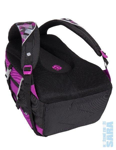 192060d60cf Školní batoh THEORY 7 A pink grey black