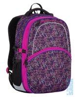 Školní batoh Madison 7 A black violet grey - Doprava zdarma 212318f1aa