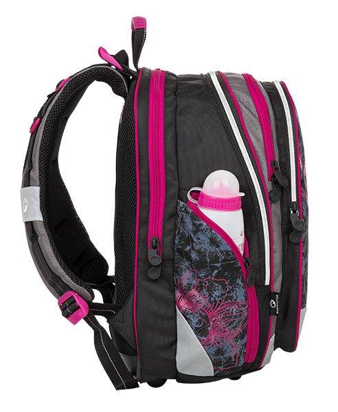 Dívčí školní batoh ELEMENT 8 A černá 654f840727
