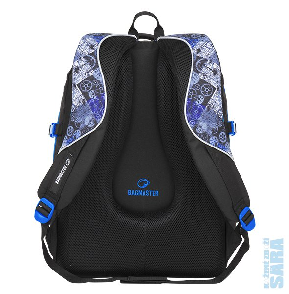 Školní batoh THEORY 8 D black blue gray fb2c9956f8