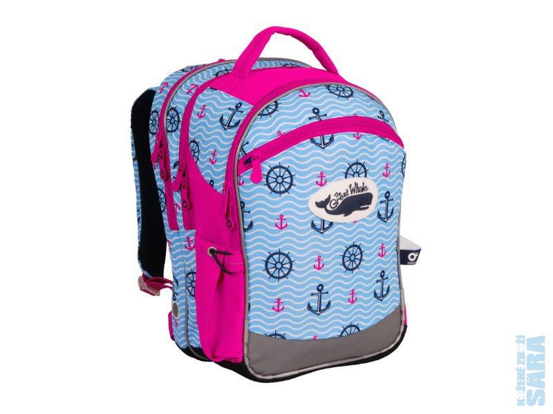 Školní batoh CHI 802 H Pink - POSLEDNÍ KUS 6c2817d839
