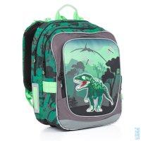 19b93d69ae7 Školní batoh CHI 842 E green - Doprava zdarma