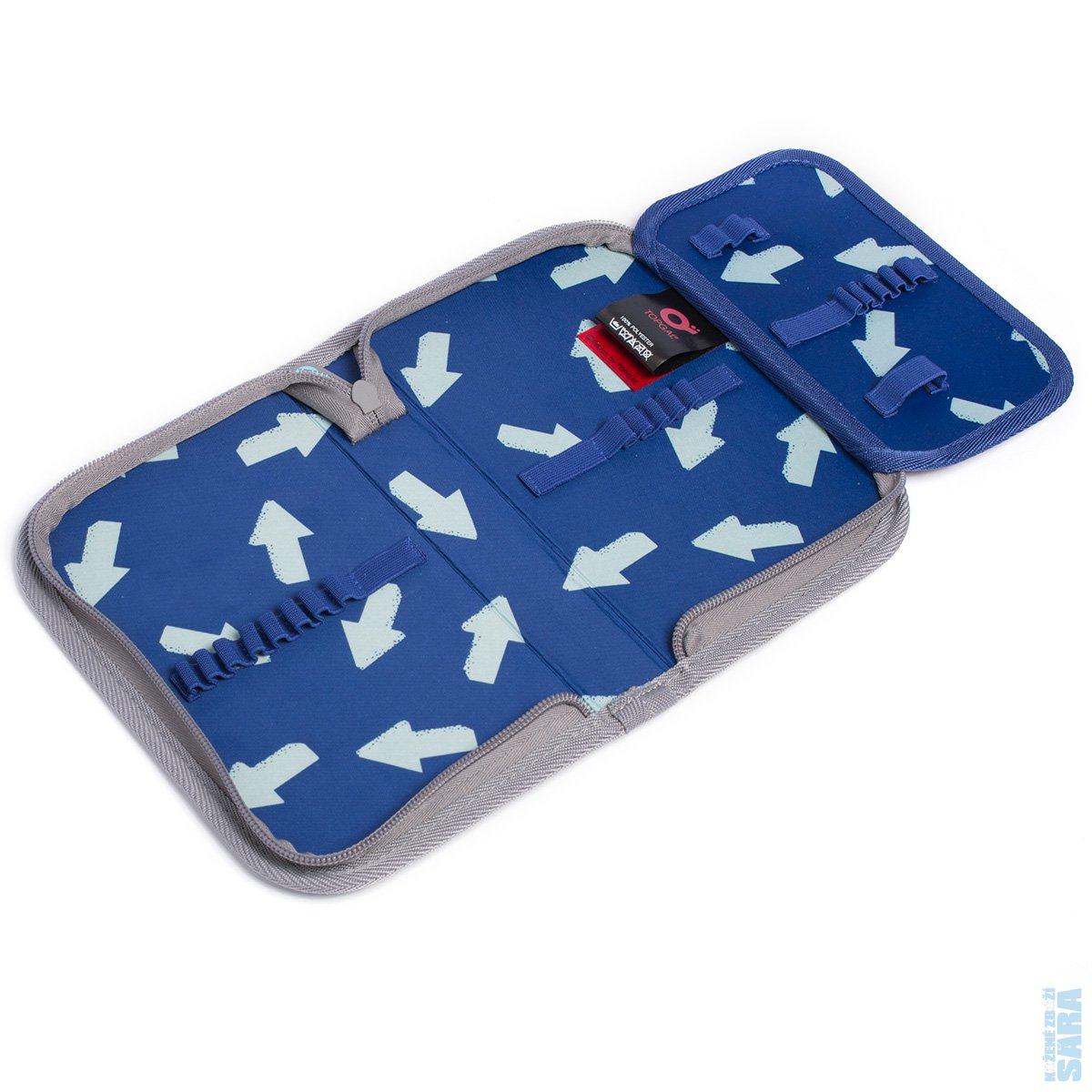... Školní batoh CHI 878 D blue + Penál CHI 911. Tříkomorová stálice mezi  školními batohy pro kluky od 2. třídy výše 8caea641ec