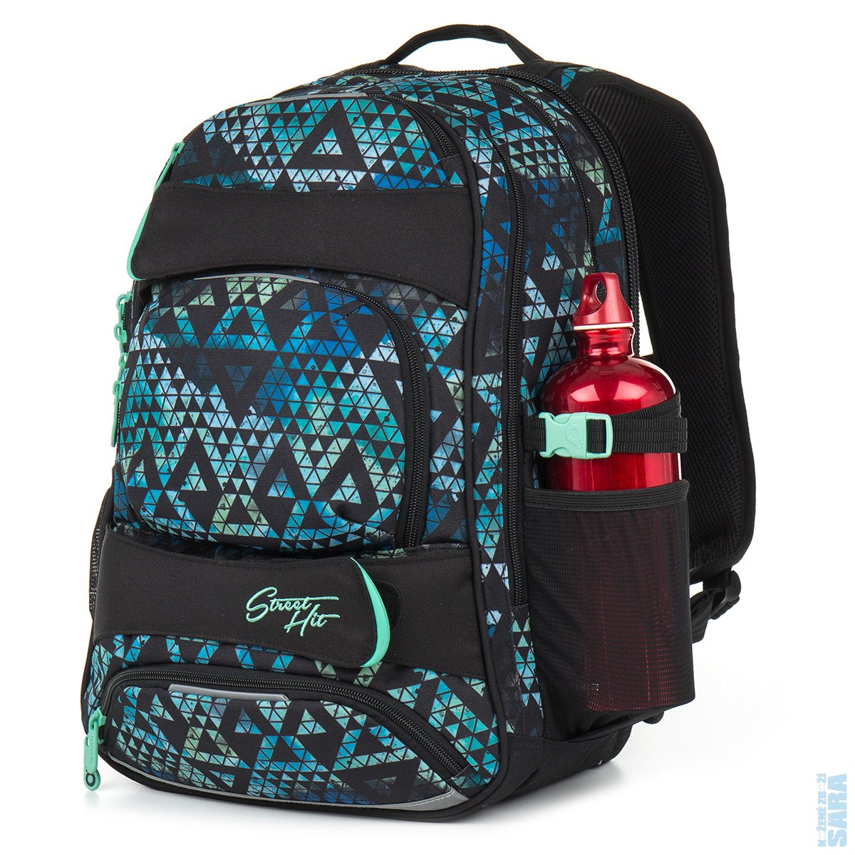 04e759c2fa Studentský batoh HIT 888 E green