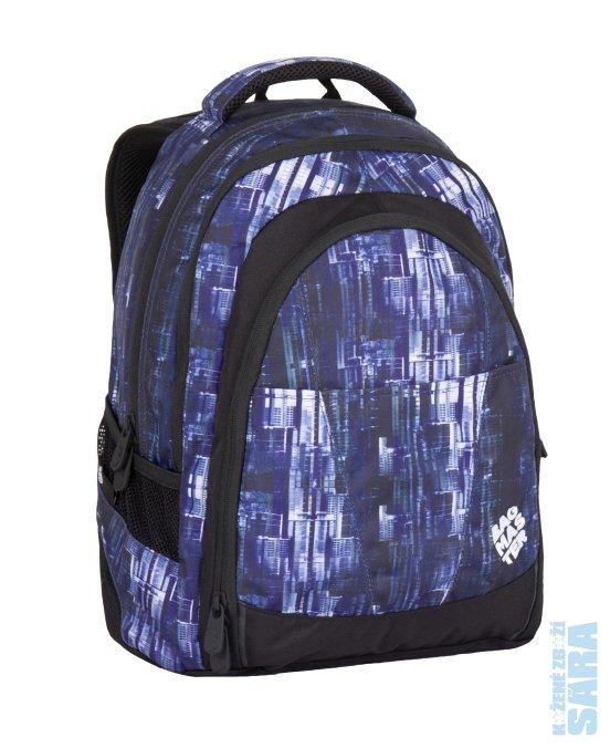 f0f2223e82 Tříkomorový studentský batoh na notebook 15