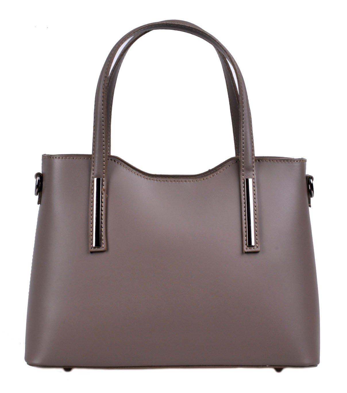 Dámská kožená kabelka 5136 TAUPE p. ee406b31ee2