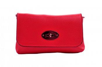fcde053e14 Malá kožená kabelka 5207 červená