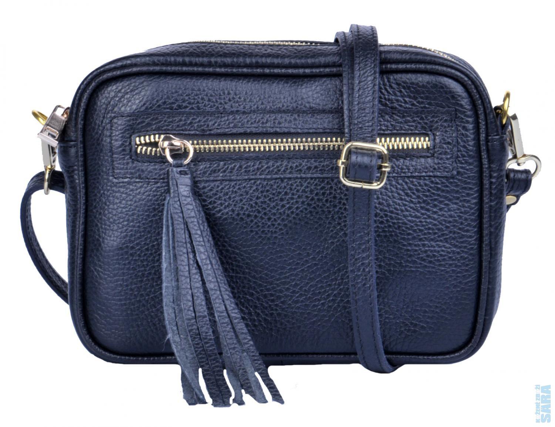Dámská malá kožená kabelka 1404 černá poslední kus P. 0a62ff260fd