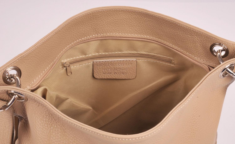 Dámská kožená crossbody kabelka 5591 béžová prodejna 49aa0b3b4d5
