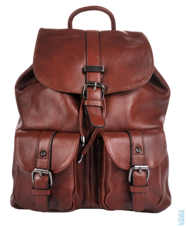 fec948e76e3 Dámský kožený batoh M888 hnědý