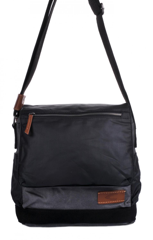 9280e754b923c Pánská klopnová textilní taška přes rameno 262-602-70 šedá, Camel Active