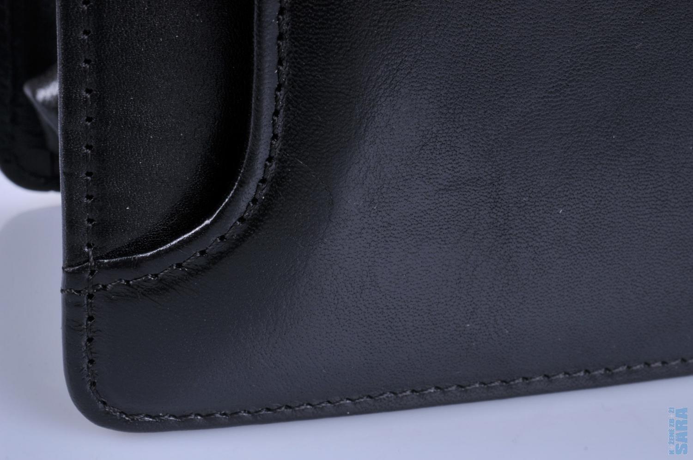 pánská kožená aktovka Hajn 104401.3 černá 5c4c1597091