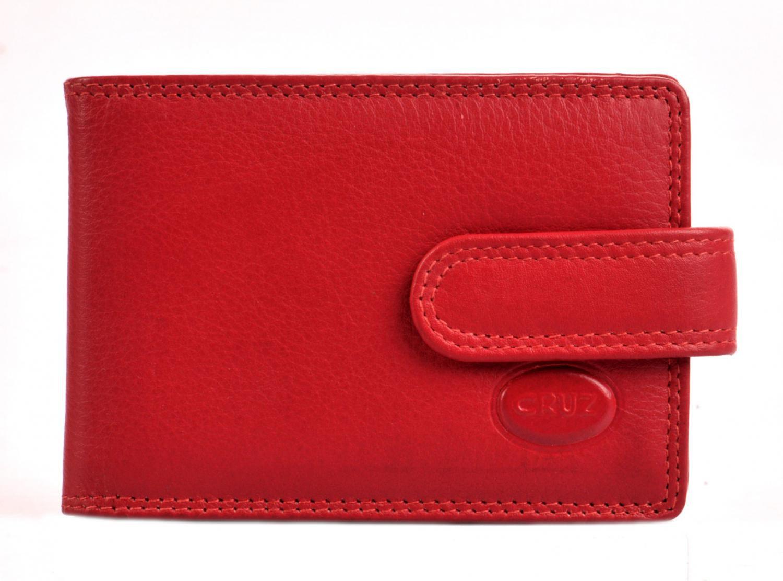 b151359540 kožené pouzdro na karty 7036 červené