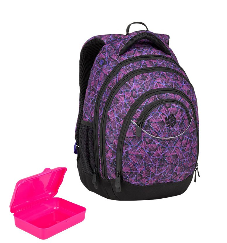 089650c5ec Dívčí studentský batoh bagmaster energy 9 D
