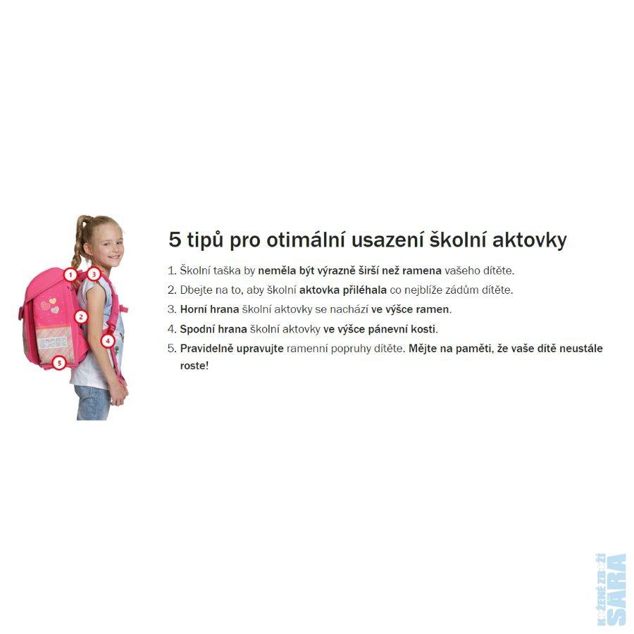 Školní aktovka s vybavením pro malé sportovce je určena do 1.-3. třídy. Set  s fotbalovým motivem obsahuje aktovku b184d528db