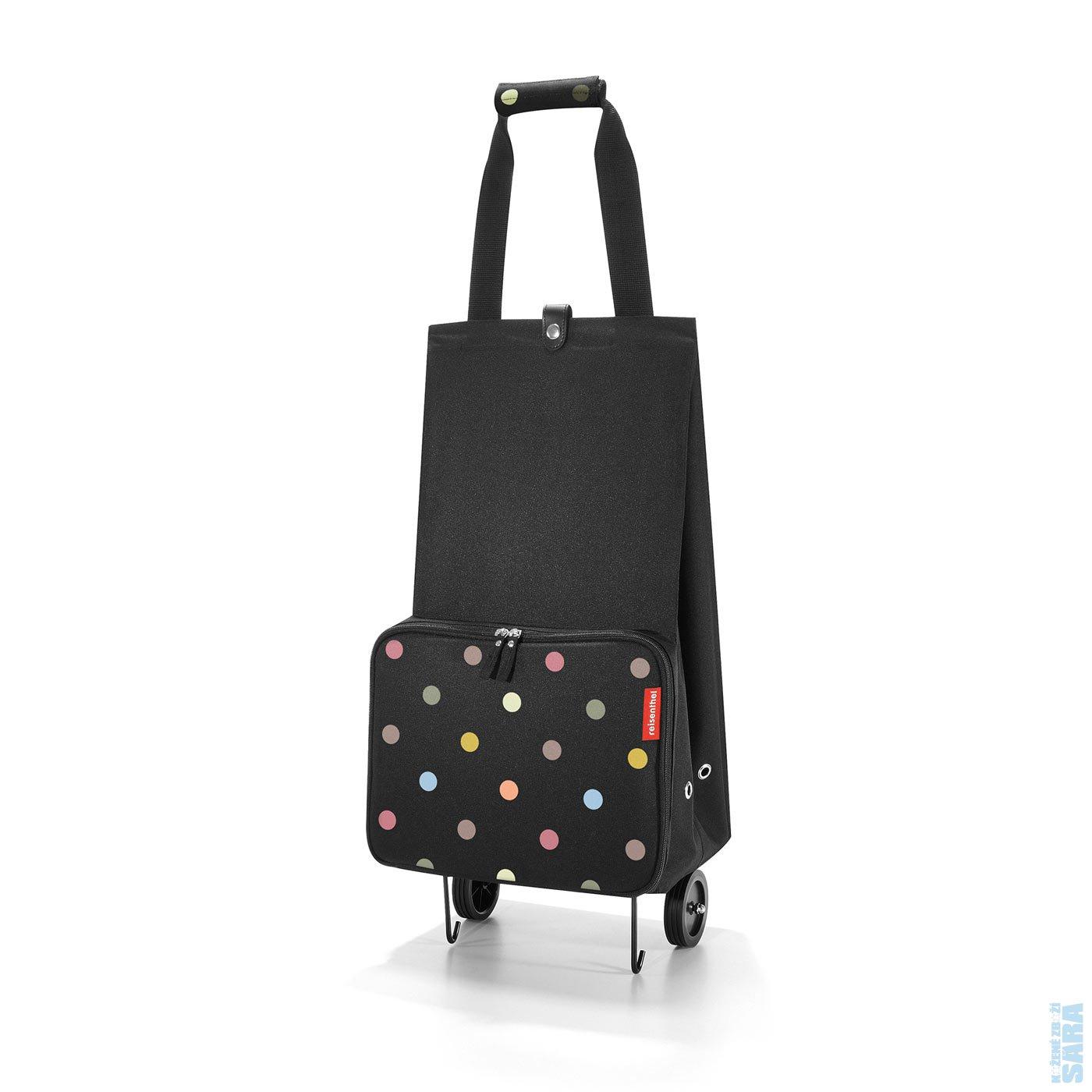 16cee7cdd4 Skládací nákupní taška na kolečkách foldabletrolley dots HK7009 ...