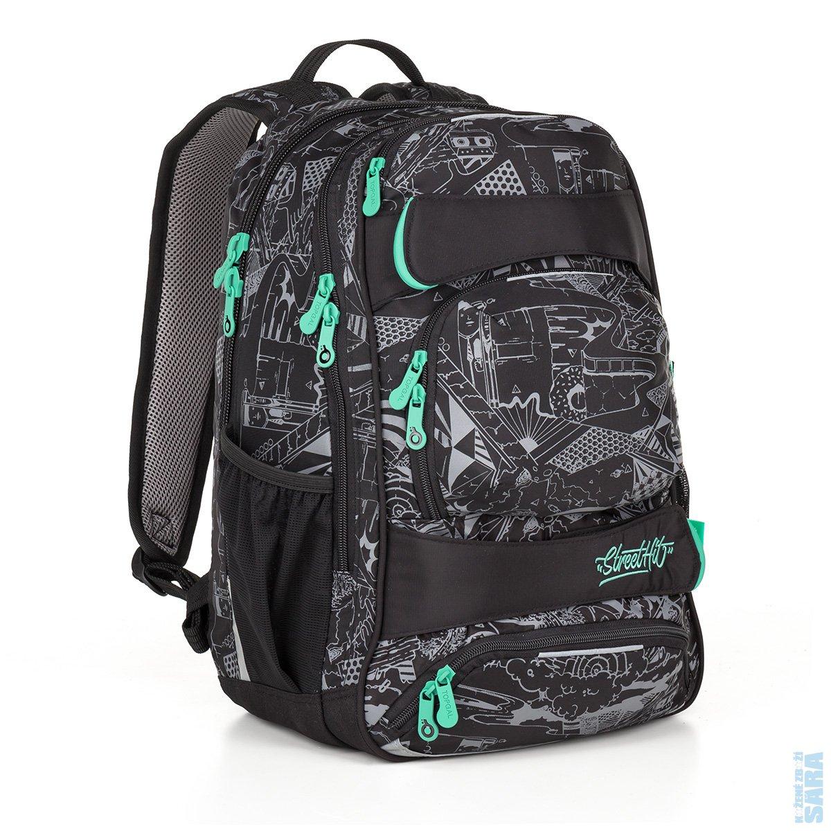Studentský batoh YUMI 18028 B + doprava zdarma 392fe0c006